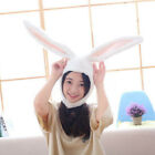 Soft Rabbit Hat Long Ears Bunny Cap Kids Adults Costume Fancy Dress Headwear