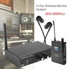 Anleon S2 Uhf Stereo Monitor System Wireless In ear Stage Trasmitter Receiver