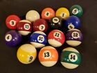 New Billiard Deluxe Pool Balls Standard Size 2-1/4 Replacement/DIY Projects Each $5.95 USD on eBay