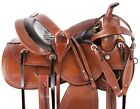 Used Western Saddles 15 16 17 18 Barrel Racing Trail Riding Leather Horse Tack