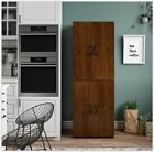 Tall Storage Cabinet Kitchen Pantry Cupboard Organizer Furniture Multiple Colors