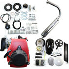49CC 4-Stroke Gas Petrol Motorized Bike Engine Kit Scooter W/ Or W/o Belt