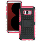 Armor Dual Layer Protective W/Kickstand Hybrid Case Cover For Samsung Smartphone