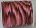 Real Round Leather Cord 1 mm String Lace Thong for Jewellery Necklace Genuine HQ