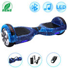 "Hoverboard 6,5"" Zoll Selbst Balance Board Elektro-Scooters Bluetooth+LED+Tasche"