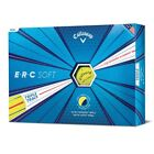 New Callaway ERC Soft Yellow Golf Balls - New 2019 - FREE Delivery