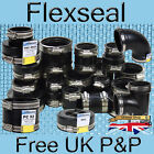 Flexseal (Fernco) Genuine Flexible EPDM Rubber Boot Pipe Tank Connector Coupling
