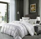 Luxurious Goose Down Alternative Comforter 1200 Thread Count 100% Cotton Cover E image