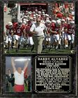 Barry Alvarez Wisconsin Badgers Photo Plaque