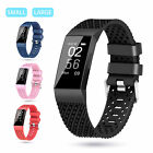 Replacement Silicone Wrist Band Strap For Fitbit Charge 3 Wristband Small Large