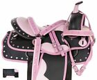 Western Trail Saddle 15 14 16 17 18 Barrel Racing Racer Silver Show Horse Tack