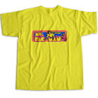 Ms. PacMan Ghost Classic Retro Arcade Video Game Title Sign Unisex Tee T-Shirt