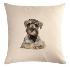 DOG / CAT Cushion Covers! 20 DESIGNS 45cm Puppy Kitten Photo Throw Pillow Gift