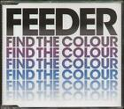 FEEDER Find The Colour  CD 3 Tracks Inc Remember The Silence+Circles, Ecscd145