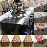 Xmas Maple Leaf Lace Table Runner Wedding Dinner Party Restaurant Web Decor CH