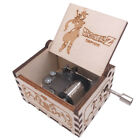 Dragon Ball Music Box Hand Crank Musical Box Carved Wood Musical Gifts for Kids