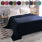 LUXURY Flannel Fleece Blanket Lightweight Microfiber All Size for Bed Couch Sofa image