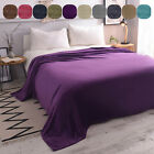 Premium Flannel Fleece Blanket Microfiber Cozy Warm All Size for Bed Couch Sofa image