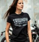 GENUINE TRIUMPH MOTORCYCLE T-SHIRT SS19 LADIES MIA TEE £29.0 GBP on eBay