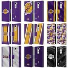 OFFICIAL NBA LOS ANGELES LAKERS LEATHER BOOK WALLET CASE COVER FOR LG PHONES 2 on eBay