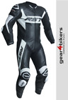 RST Tractech Evo R CE One Piece WHITE Motorcycle Leather Suit Track 1 DISPLAY