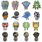 10Style Golf 4 Leaf Clover Golf Ball Marker With Magnetic Hat Clip Clamp Cl D5L5