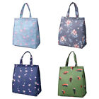 Cute Women Ladies Portable Flower Flamingo Insulated Lunch Bag Tote Picnic Box