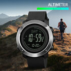 SKMEI Mens Compass Outdoor Sports Watches Multi-function Digital Wristwatch 1418 image