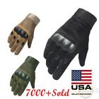 Внешний вид - Army Military Combat Hunting Shooting Tactical Hard Knuckle Full Finger Gloves