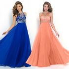 Women's Long Chiffon Dress Formal Evening Party Bridesmaid Ball Gowns Dresses US $14.24 USD on eBay