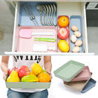 Kitchen Drawer Organiser Storage Boxes Tray Utensil Cutlery Degradable Holder