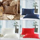 1pc Queen Size Silk~y Satin Pillow Case/Cases Good Quality image