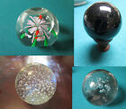 PAPERWEIGHTS CRYSTAL FRANCE HERBS AND BUGS CONTROLLED BUBBLES PICK ONE