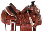 Used Roping Saddles 15 Cowboy Western Leather Ranch Work Trail Horse Tack Set