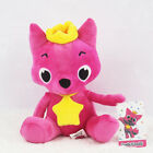 Pinkfong Soft Dolls Baby Fox Shark Cute Animal Stuffed Plush Baby Kids Toys Gift
