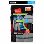 Hanes Men's Cool DRI Long Leg Boxer Briefs with Comfort Flex® Waistband 5-Pack