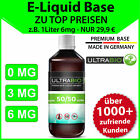 Liquid Base 1 L ⭐ E-Liquid Base 1000ml 3mg, 6mg in 50/50 und 70/30 mit Nikotin ⭐