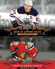 2018-19 18-19 UPPER DECK SERIES 1 & 2 HOCKEY TEAM BASE SETS-U PICK FROM LIST $1.75 CAD on eBay