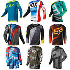 Fox-TLD Cycling Jersey Long Sleeve Bike Motocross Racing Suit Race suit XS-3XL