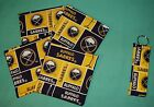 New party COASTERS SET of 4 and/or KEYCHAIN key ring BUFFALO SABRES Hockey NHL $2.50 USD on eBay