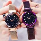 Luxury Women Watch Starry Sky Magnetic Band Quartz Wristwatch Diamond Watches CN image