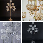 """40"""" tall Crystal Beaded Candle Holder Candelabra Wedding Party Centerpiece SALE"""