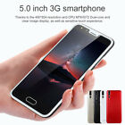 "5.0"" Android Unlocked Smartphones 3g Dual Sim Mobile Phone 4gb Gps Bluetooth Uk"