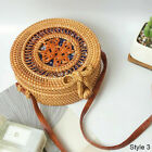 UK FAST SHIPPNG Straw Bag Summer Beach Rattan Shoulder Bags Handbag Crossbody <br/> BIG SALE From April 18 to April 20! TAKE THIS OFFER!