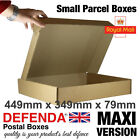 MAXIMUM FOOTPRINT Size Royal Mail SMALL PARCEL BOXES PiP Postal 449mmx349mmx79mm