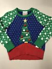 NWT Well Worn Toddler Kids' Ugly Holiday Sweater Christmas Tree