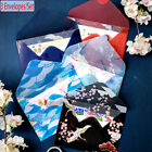Gift Cartoon Cute Chinese Style Acid Paper Floral Printed Bronzing Envelopes