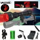 Vastfire Zoomable Hunting Torch Night Vision Flashlight LED Red Green Ray Light