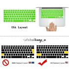 Silicone Keyboard Cover Skin For Apple MacBook Air / Pro / Retina 11 12 13 15