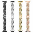 Luxury Bling Crystal Diamond Aluminum Wrist Band For Apple Watch iWatch 1/2/3/45 image
